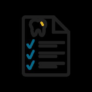 Icon of Dental Checklist Paperwork