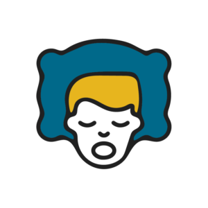 Face on Pillow Icon