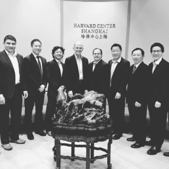 Dr. Chang With Group of Dentists