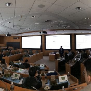 Lecture at the Harvard Center in Shanghai