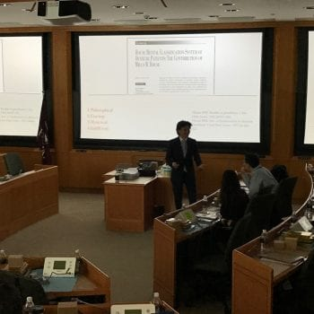 Lecture at the Harvard Center in Shanghai 3
